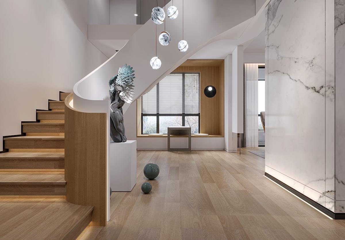 吕晨的家装效果图设计作品