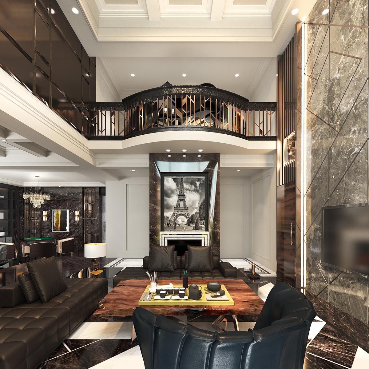 一萧的家装效果图设计作品