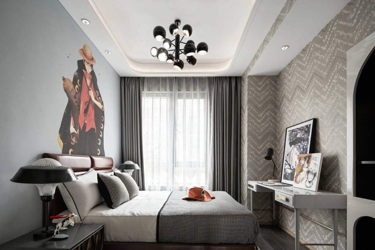 家装,轻奢,效果图,现代