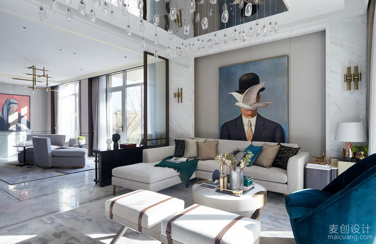 现代,时尚,别墅,效果图