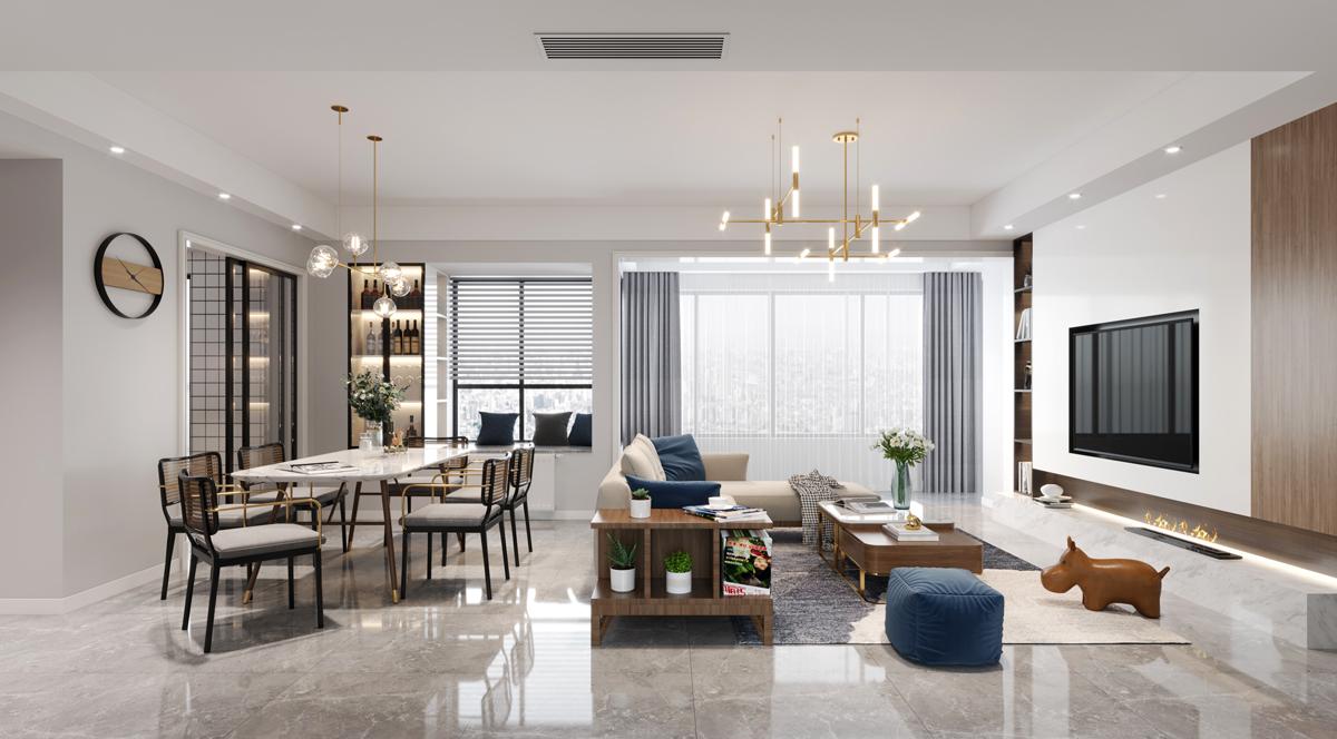 刘青的家装效果图设计作品