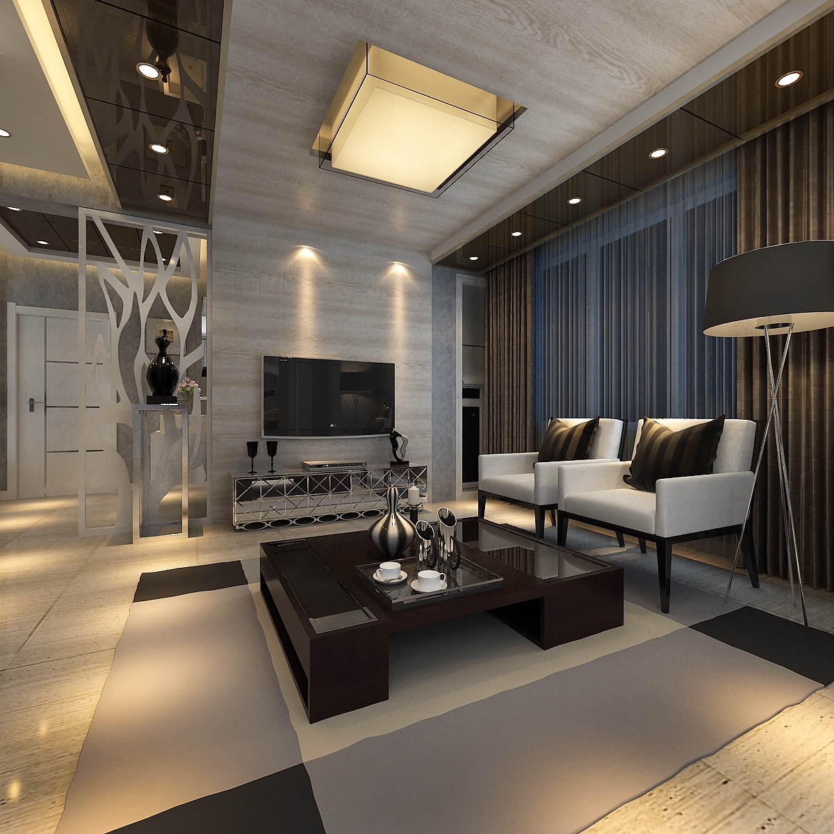 子博的家装效果图设计作品