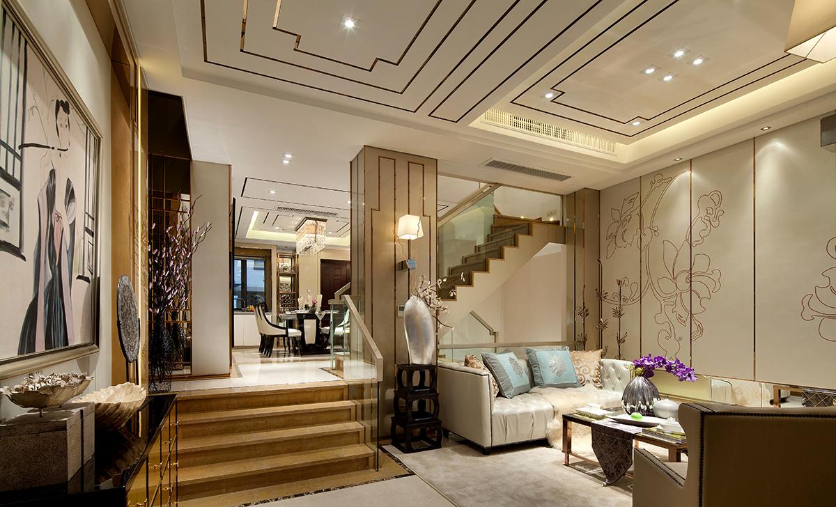 谭天的家装效果图设计作品