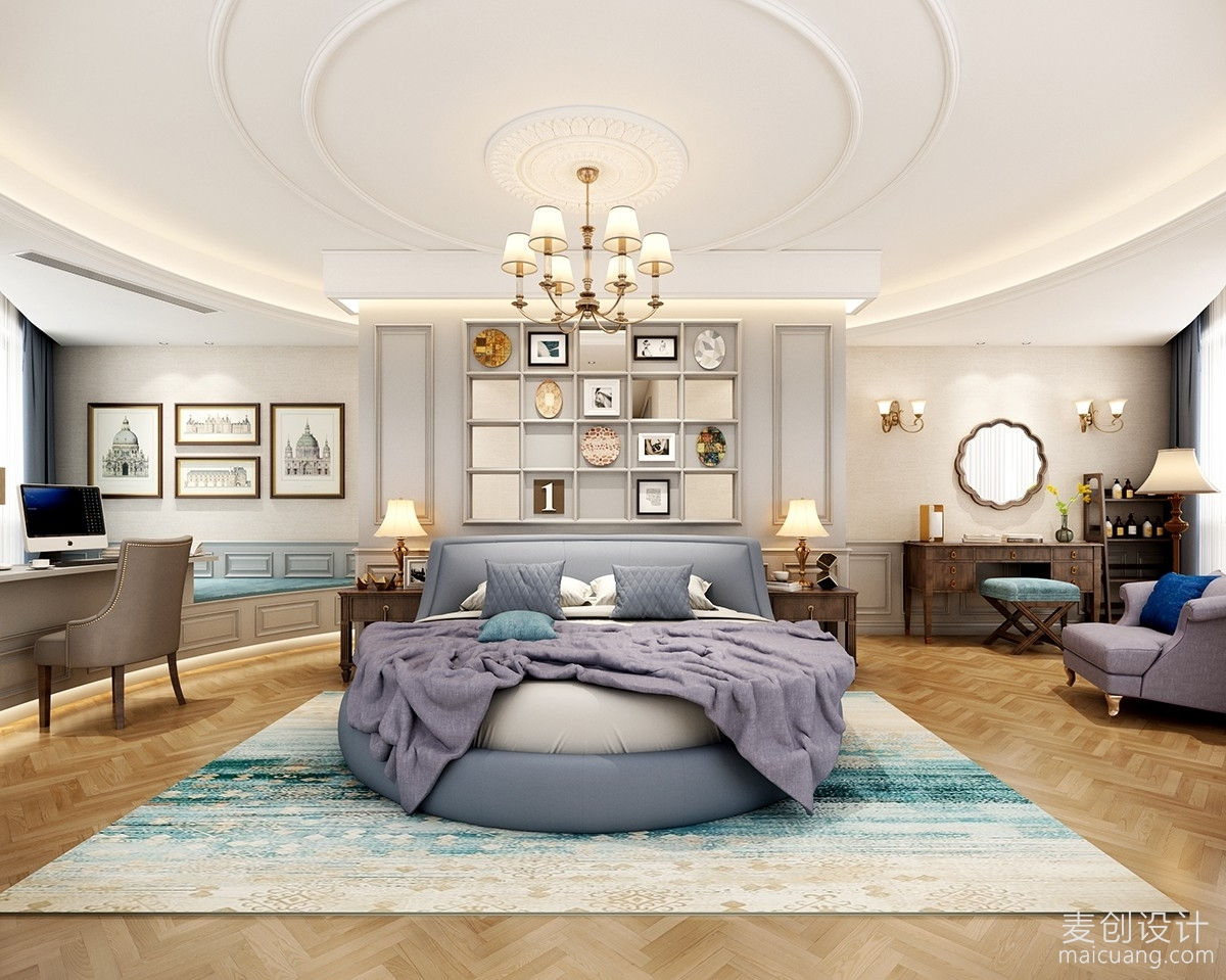 圆形大床房
