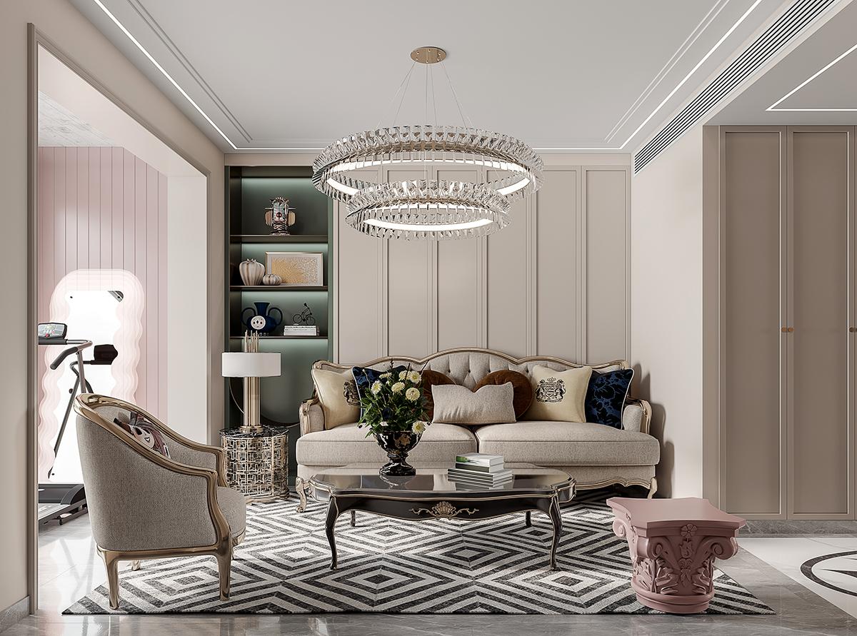 慕言的家装效果图设计作品