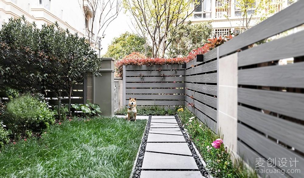 室外花园效果图