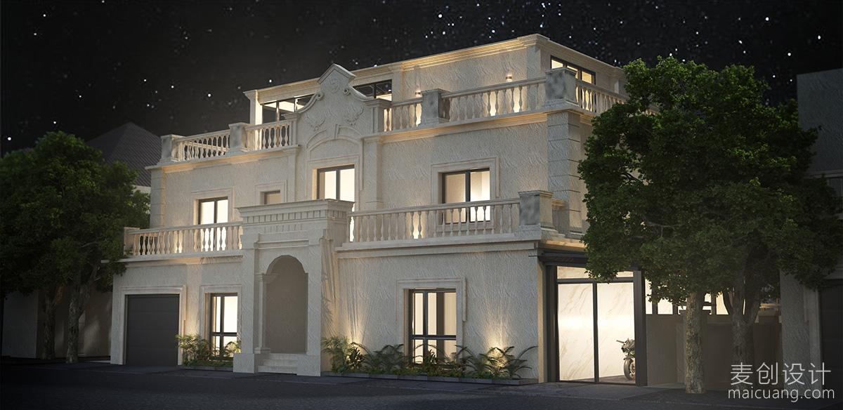 别墅外立面设计图