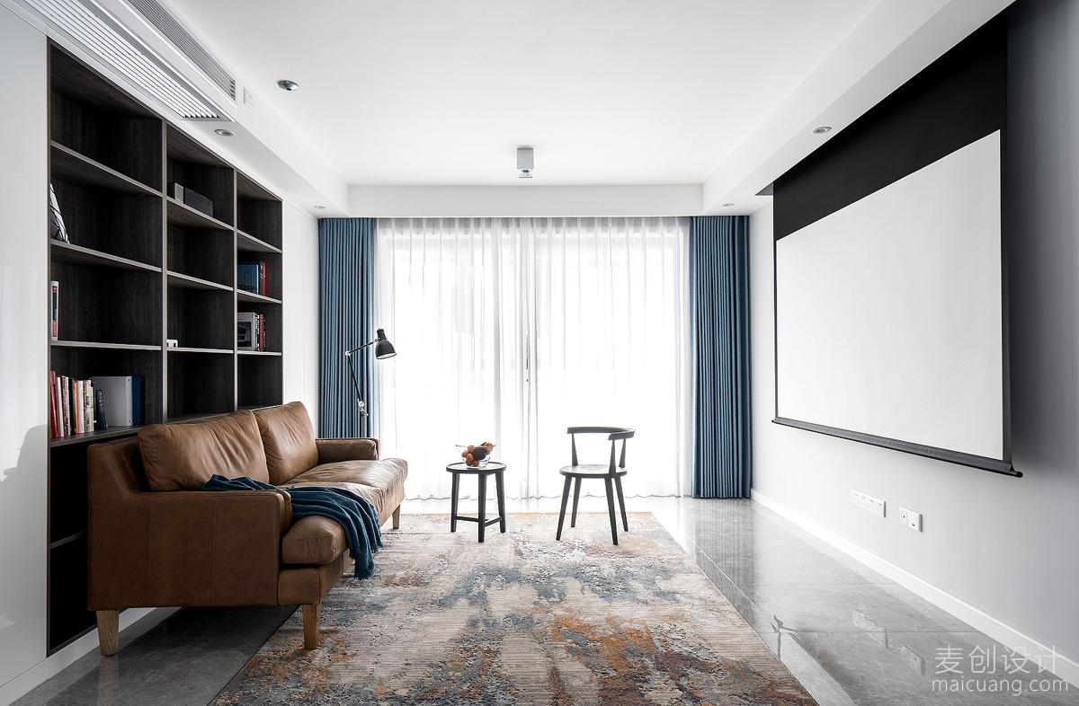 客厅投影墙