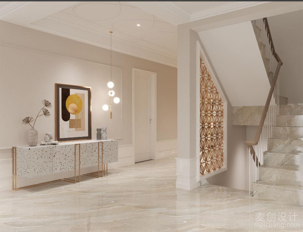 安然年华·美而不腻的轻奢情调,上海别墅设计