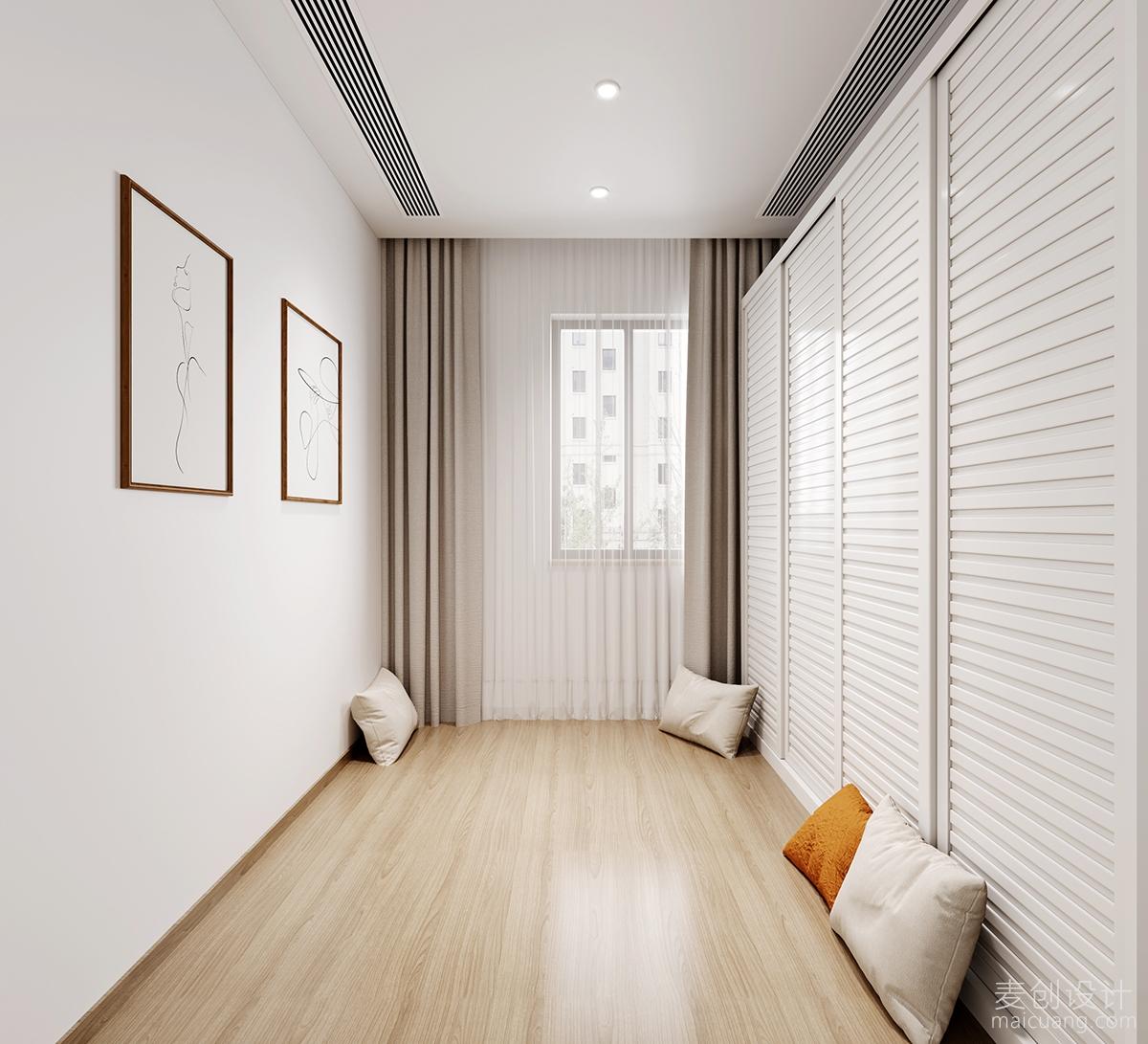北欧风格二居室,软装设计方案